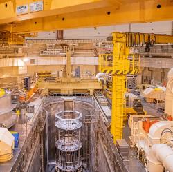 V jádru reaktoru