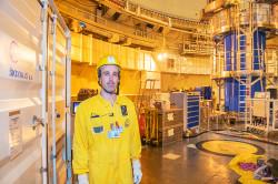 Temelín testoval nové kontejnery na použité palivo