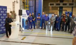 Первый контейнер нового типа для АЭС «Темелин»