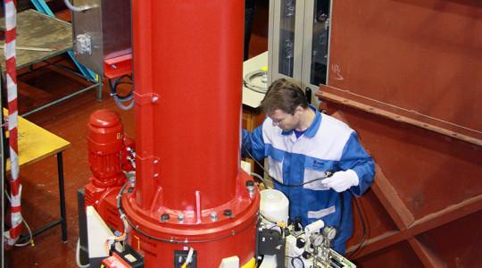 Оборудование для извлечения, транспортировки и утилизации датчиков нейтронного потока и термопар