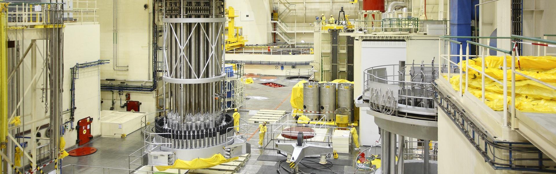 Maintenance of reactor building logical units
